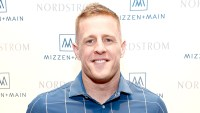 J.J. Watt celebrates Mizzen+Main at Nordstrom Houston Galleria on February 1, 2017 in Houston, Texas.