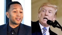 John Legend and Donald Trump
