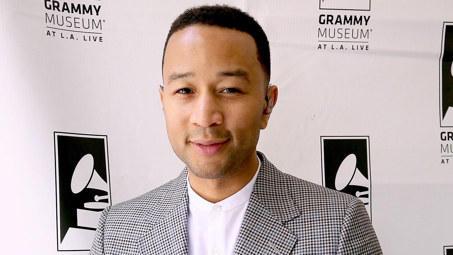John Legend backstage at the 2016 Jane Ortner Education Award Luncheon on April 4, 2016 in Beverly Hills, California.