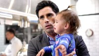 Jimmy (John Stamos) and Edie (Layla / Emelia Golfieri) in Fox's Grandfathered.