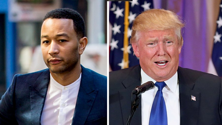 John Legend Donald Trump