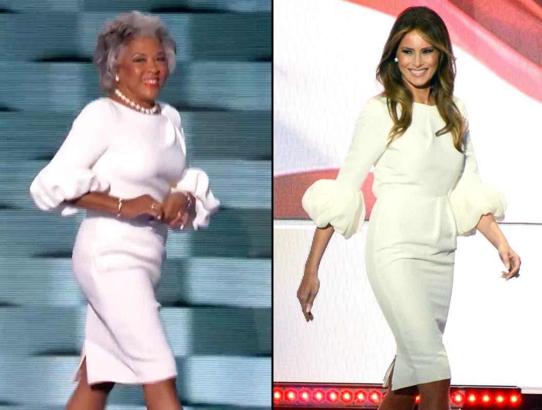 Joyce Beattys DNC Dress Is A Near Match To Melania Trump