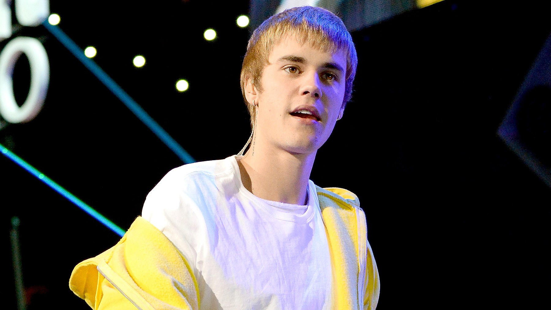 Justin Bieber performs onstage during Z100's Jingle Ball 2016 at Madison Square Garden on December 9, 2016 in New York, New York.