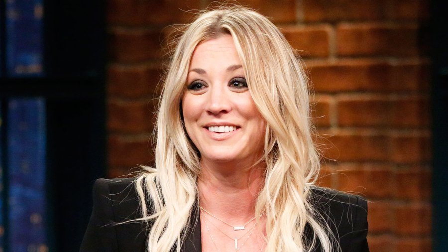 Kaley Cuoco Goes Back To Penny Length Lob Hairstyle Before After Pics