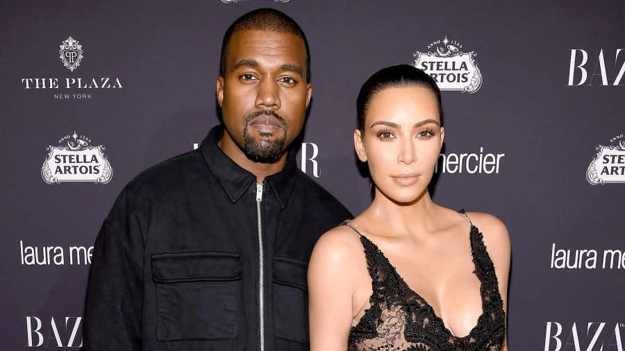 """Kanye West and Kim Kardashian West attend Harper's Bazaar's celebration of """"ICONS By Carine Roitfeld"""" presented by Infor, Laura Mercier, and Stella Artois at The Plaza Hotel on September 9, 2016 in New York City."""