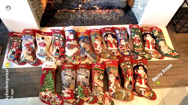 The Kardashian-Jenner's stockings.