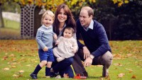 Prince William, Duke of Cambridge and Catherine, Duchess of Cambridge with their children, Prince George and Princess Charlotte