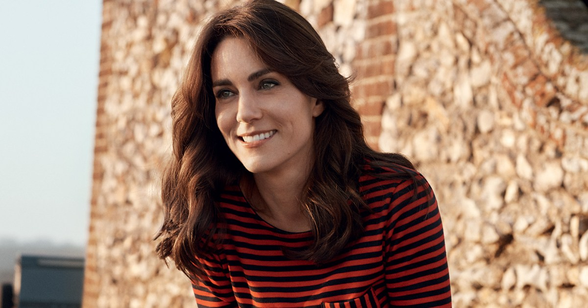 Duchess Kate Middleton Stuns On The Cover Of British 'Vogue