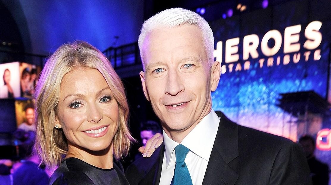 Kelly Ripa Anderson Cooper
