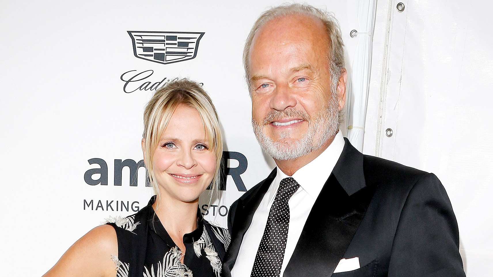 Kelsey Grammer and Kayte Walsh attend amfAR's Inspiration Gala Los Angeles at Milk Studios on October 27, 2016 in Hollywood, California.
