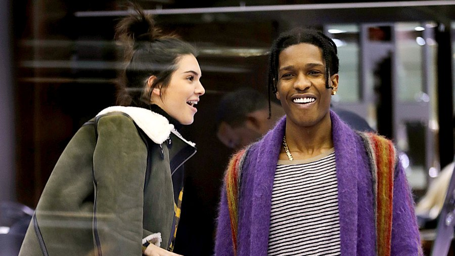 Kendall Jenner and rumored bf A$AP Rocky (ASAP) go jewelry shopping.