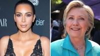Kim Kardashian, Hillary Clinton