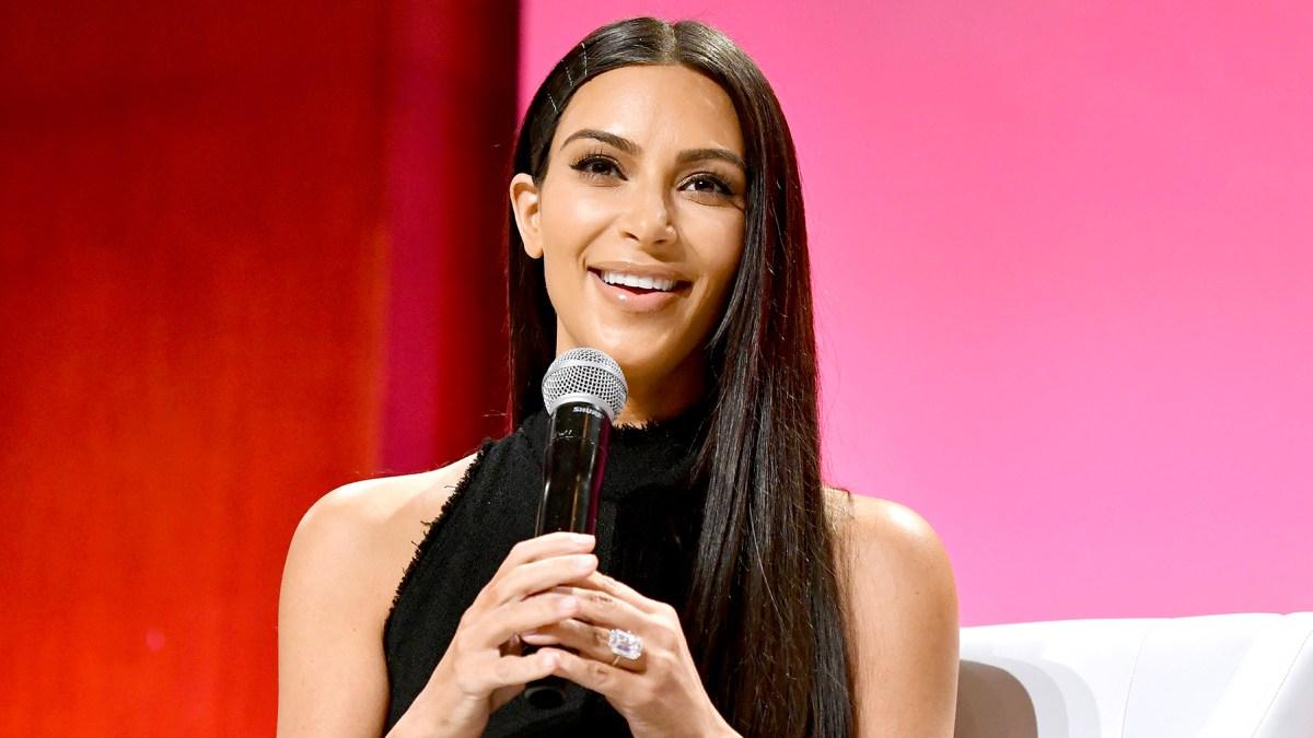 Kim Kardashian Shares Story Behind Upgraded Engagement Ring