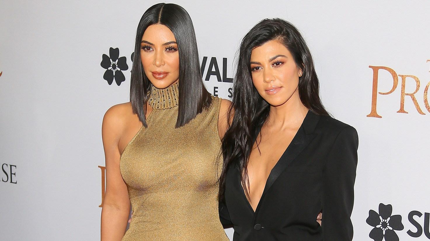 Kim Kardashian West, Kourtney Kardashian, Keeping Up with the Kardashians