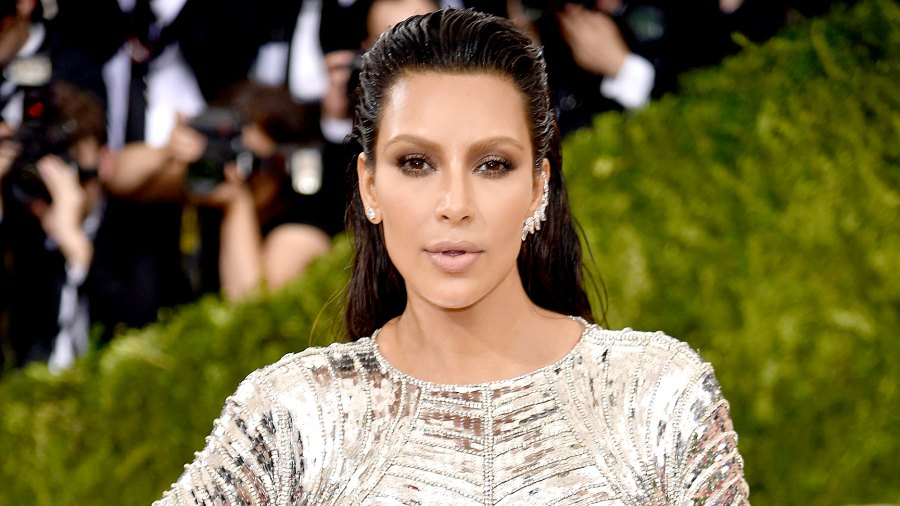 """Kim Kardashian West attends the """"Manus x Machina: Fashion In An Age Of Technology"""" Costume Institute Gala at Metropolitan Museum of Art on May 2, 2016 in New York City."""