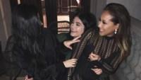 Kourtney Kardashian, Kylie Jenner & Adrienne Bailon