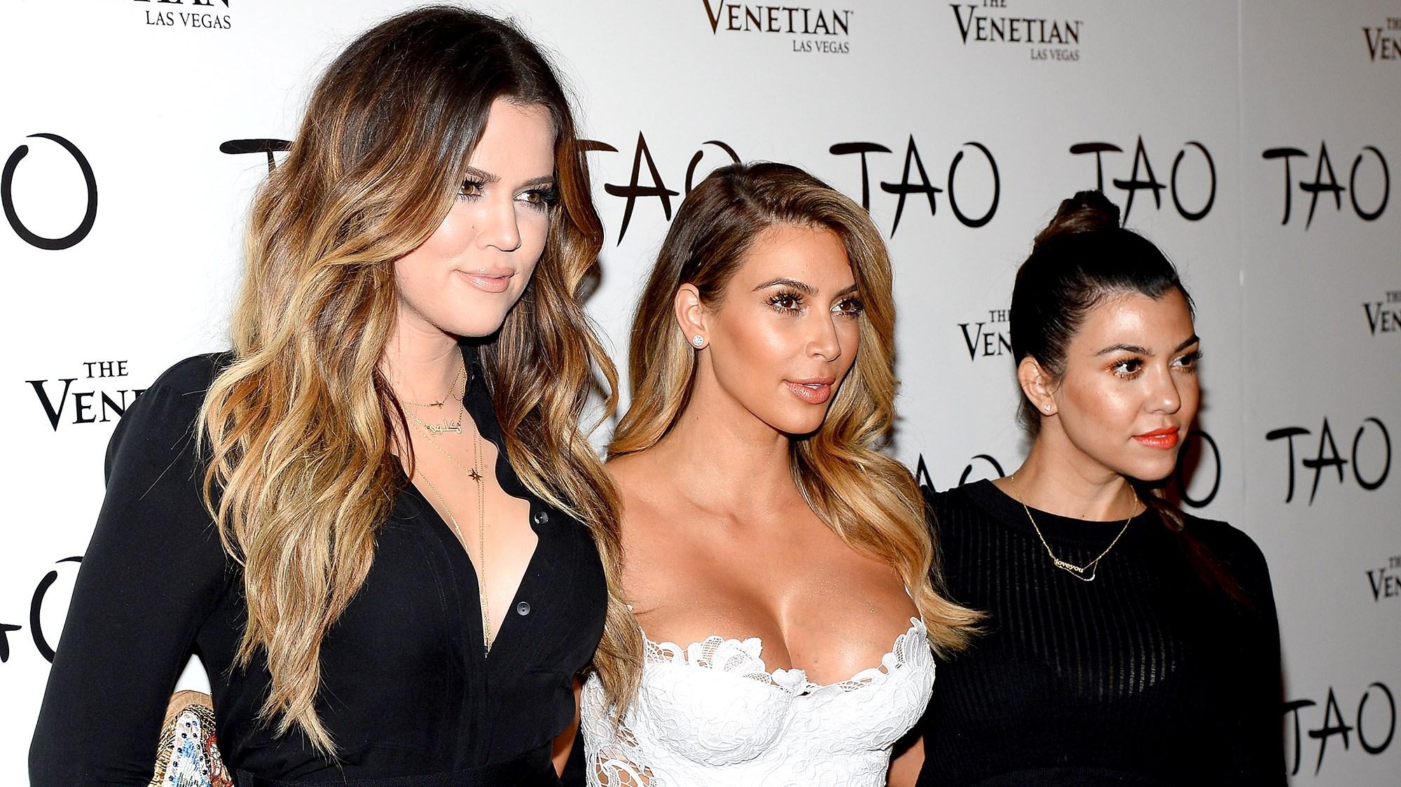 Kourtney Kardashian Kim Kardashian Khloe Kardashian
