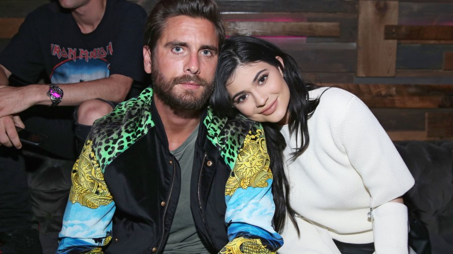 Kylie Jenner parties with Scott Disick after her split from Tyga.