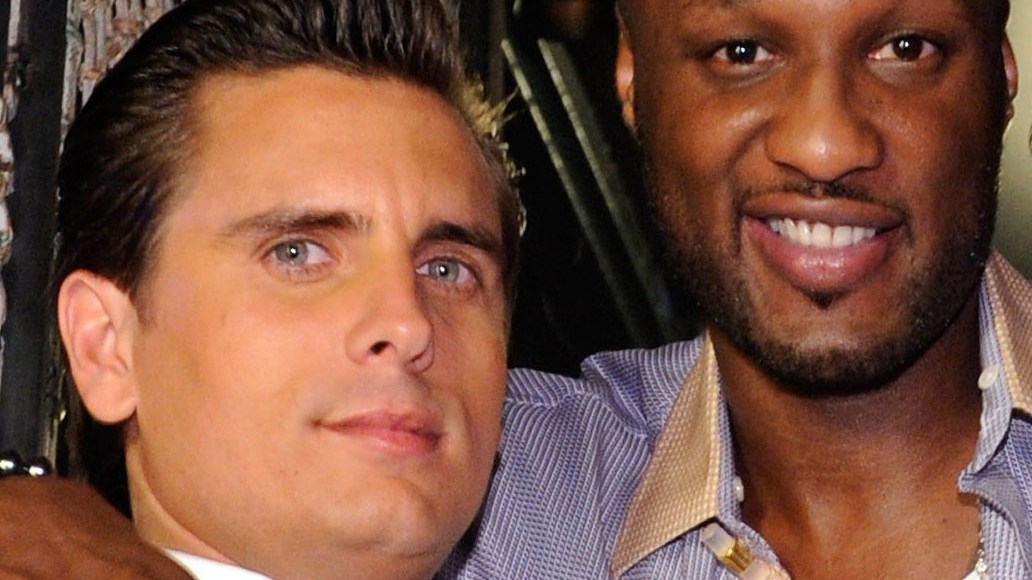 Lamar Odom and Scott Disick, pictured together here in 2011, attended Robert Kardashian's birthday meal