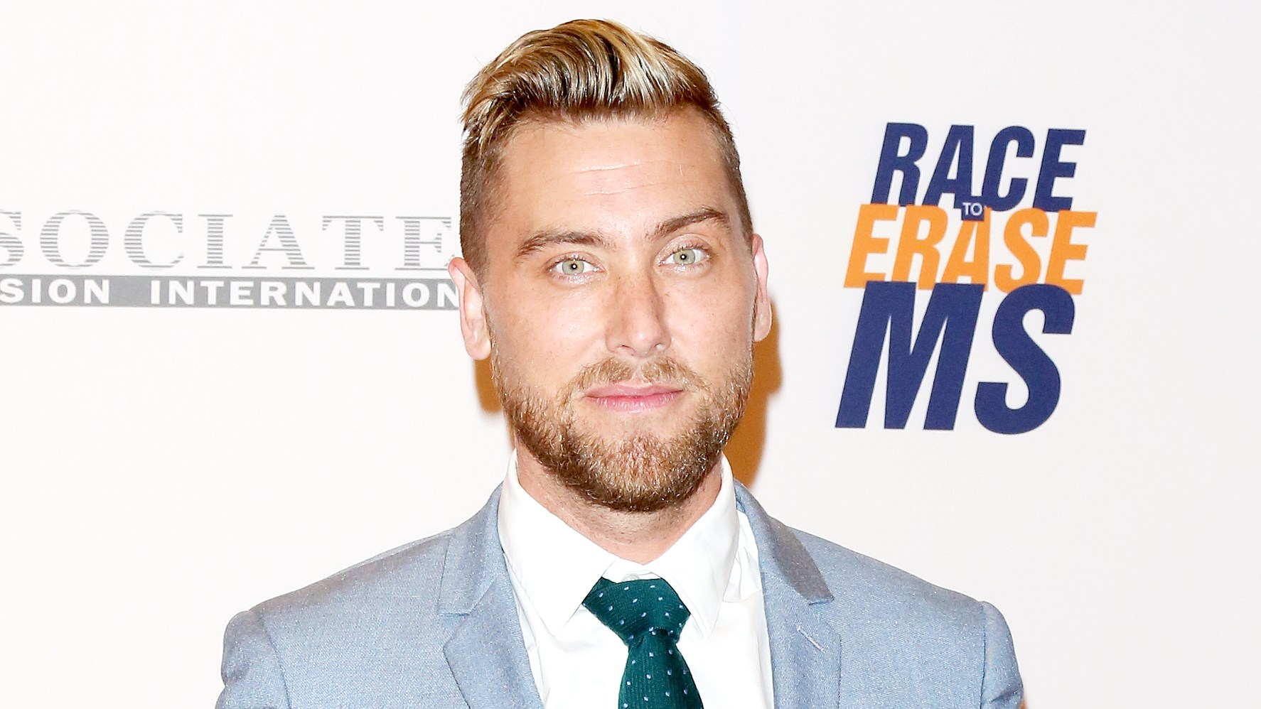Lance Bass attends the 24th annual Race To Erase MS Gala at The Beverly Hilton Hotel on May 5, 2017 in Beverly Hills, California.