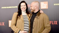 """Laura Prepon and Ben Foster attend the """"Five Came Back"""" world premiere at Alice Tully Hall at Lincoln Center on March 27, 2017 in New York City."""
