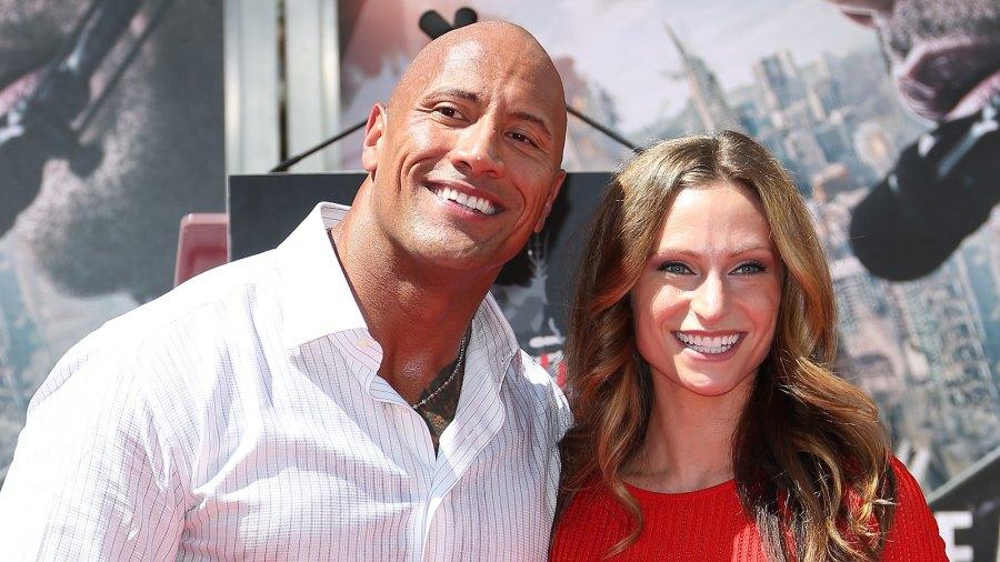 Dwayne 'The Rock' Johnson and Lauren Hashian