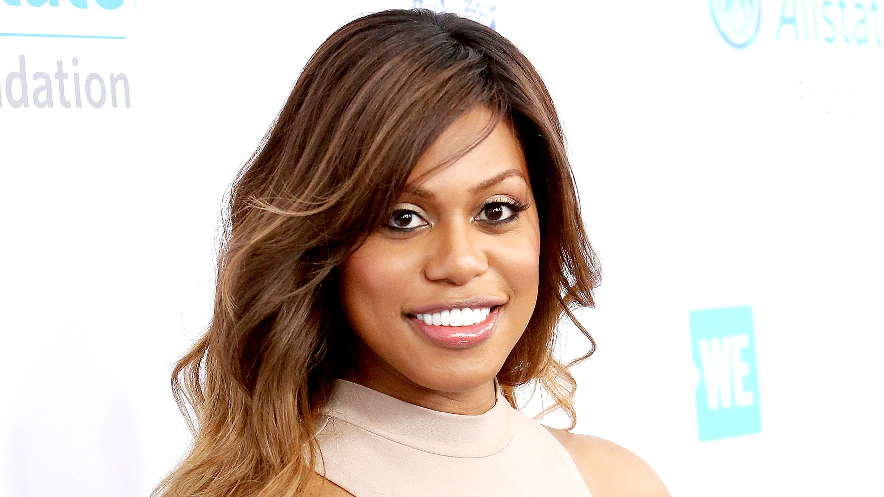 Laverne Cox attends WE Day California to celebrate young people changing the world at The Forum on April 27, 2017 in Inglewood, California.
