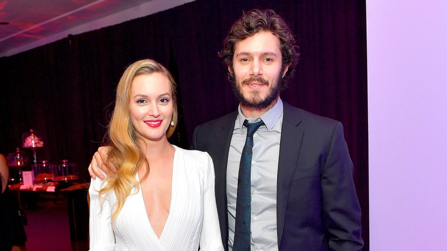Leighton Meester and Adam Brody attend The 2017 InStyle and Warner Bros. 73rd Annual Golden Globe Awards Post-Party at The Beverly Hilton Hotel on January 8, 2017 in Beverly Hills, California.