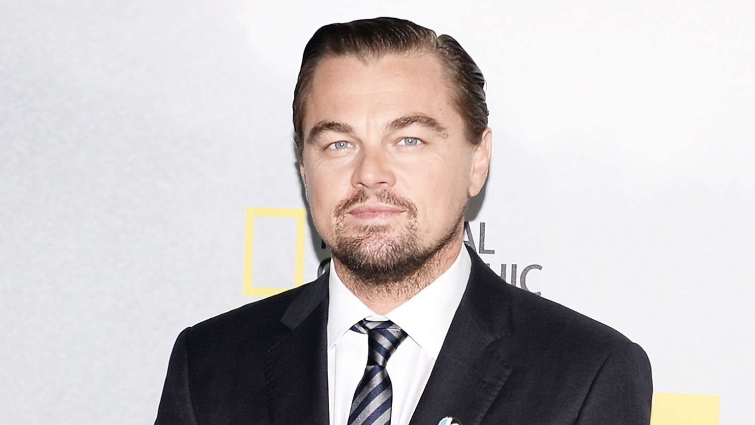 "Leonardo DiCaprio attends the ""Before The Flood"" New York premiere at United Nations Headquarters on October 20, 2016 in New York City."