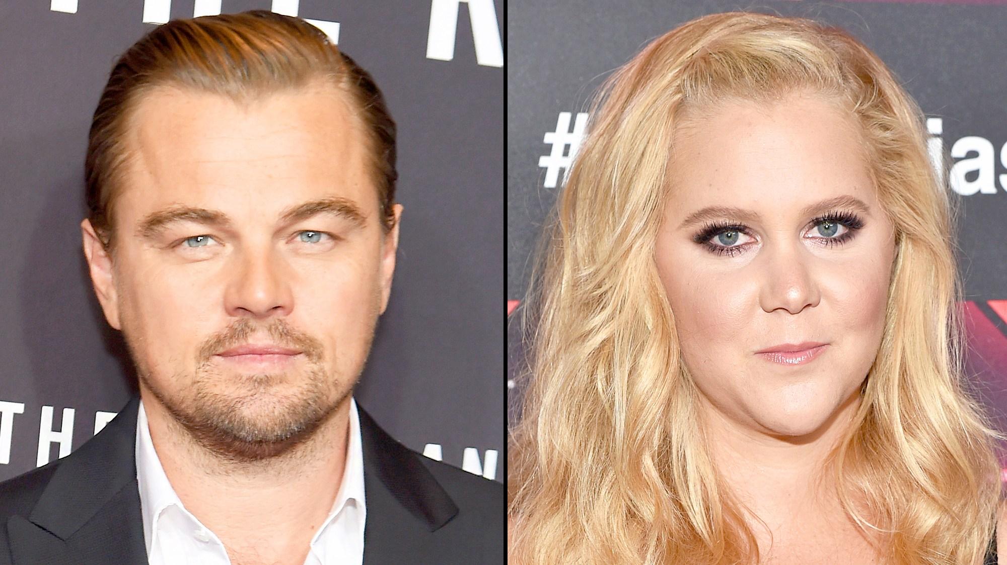 Leonardo DiCaprio and Amy Schumer