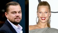 Leonardo DiCaprio and Toni Garnn