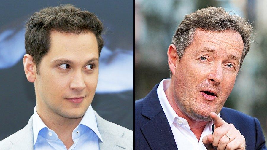 Matt McGorry and Piers Morgan (from left)