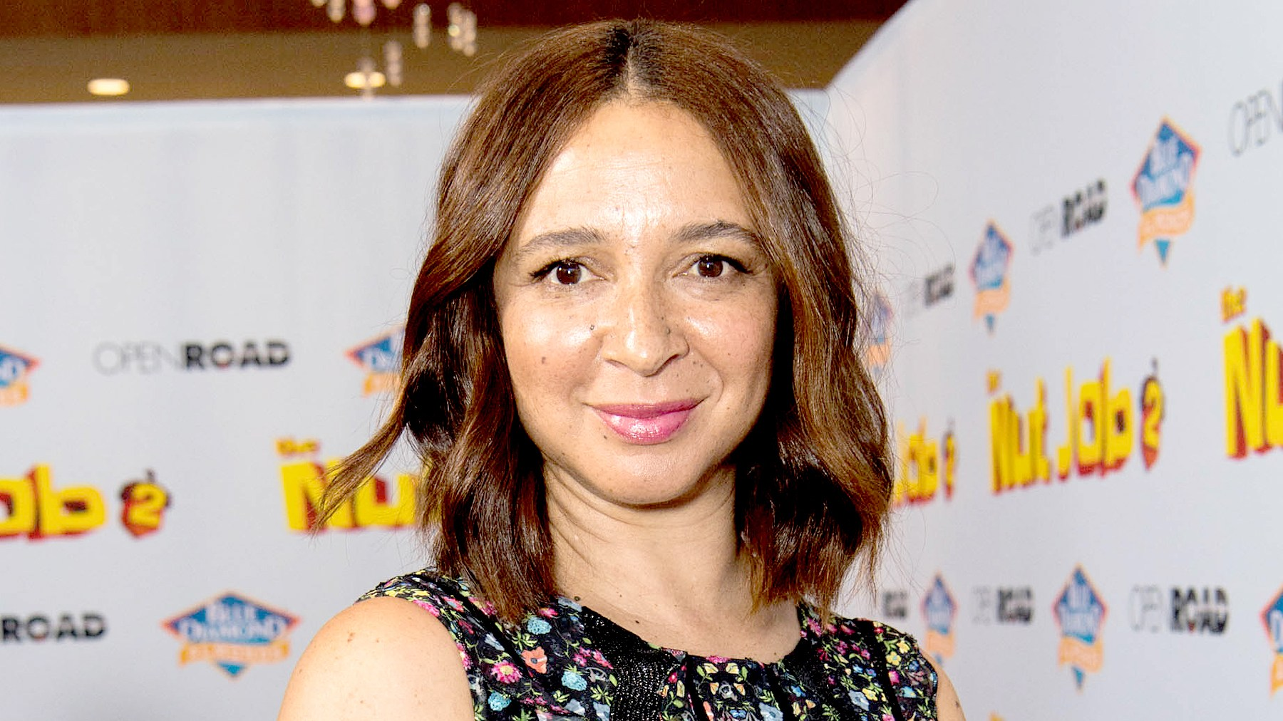 Maya Rudolph attends the premiere of Open Road Films' 'The Nut Job 2: Nutty by Nature' at Regal Cinemas L.A. Live on August 5, 2017 in Los Angeles, California.
