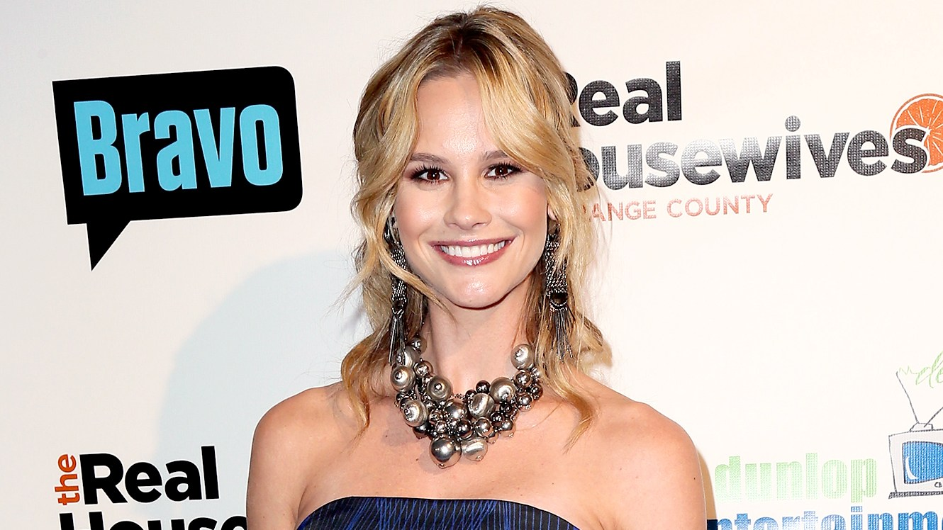 "Meghan King Edmonds attends the premiere party for Bravo's ""The Real Housewives of Orange County"" 10 Year Celebration at Boulevard3 on June 16, 2016 in Hollywood, California."