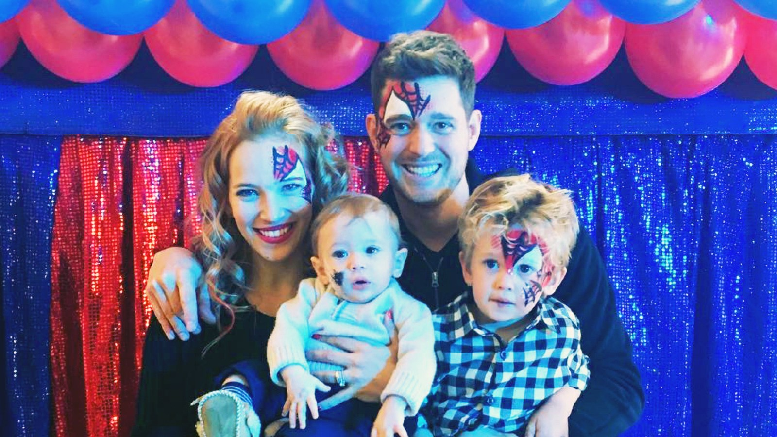 Michael Buble Celebrates Son Noahs 4th Birthday After Cancer Scare