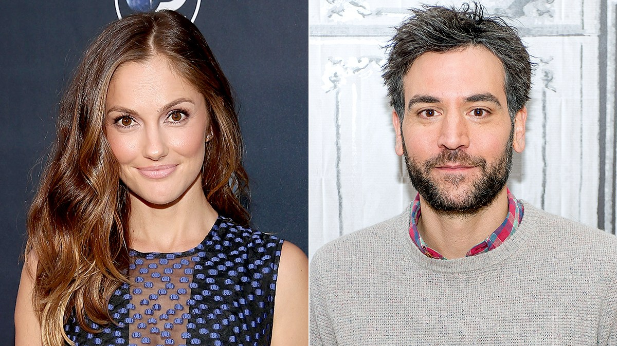 Minka Kelly and Josh Radnor