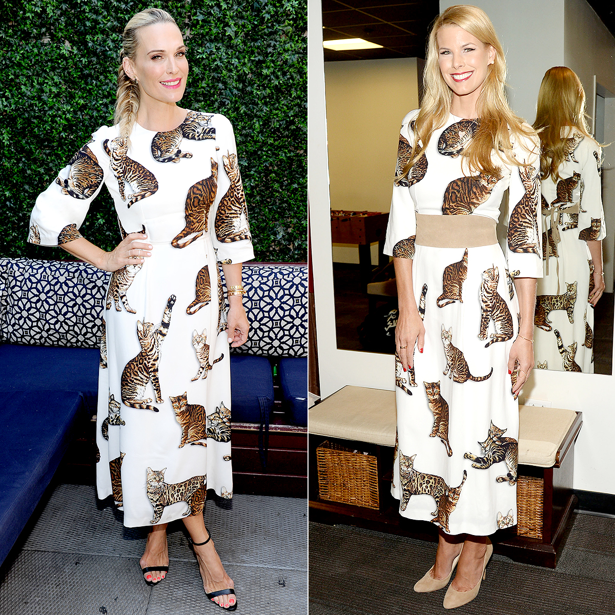 Molly Sims and Beth Stern
