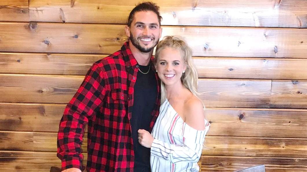 Nicole Franzel and Victor Arroyo
