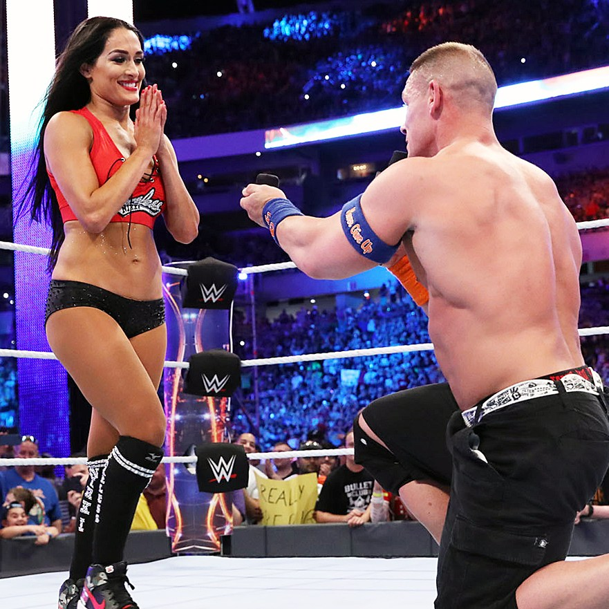 Nikki Bella John Cena engagement ring