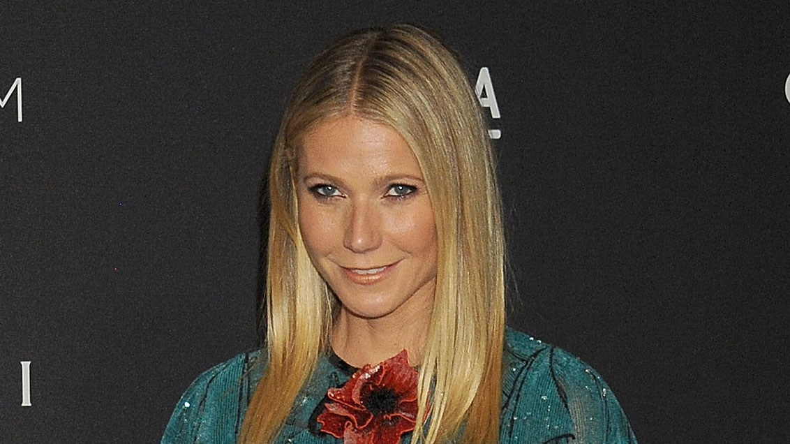 Gwyneth Paltrow spent Thanksgiving with her ex Chris Martin