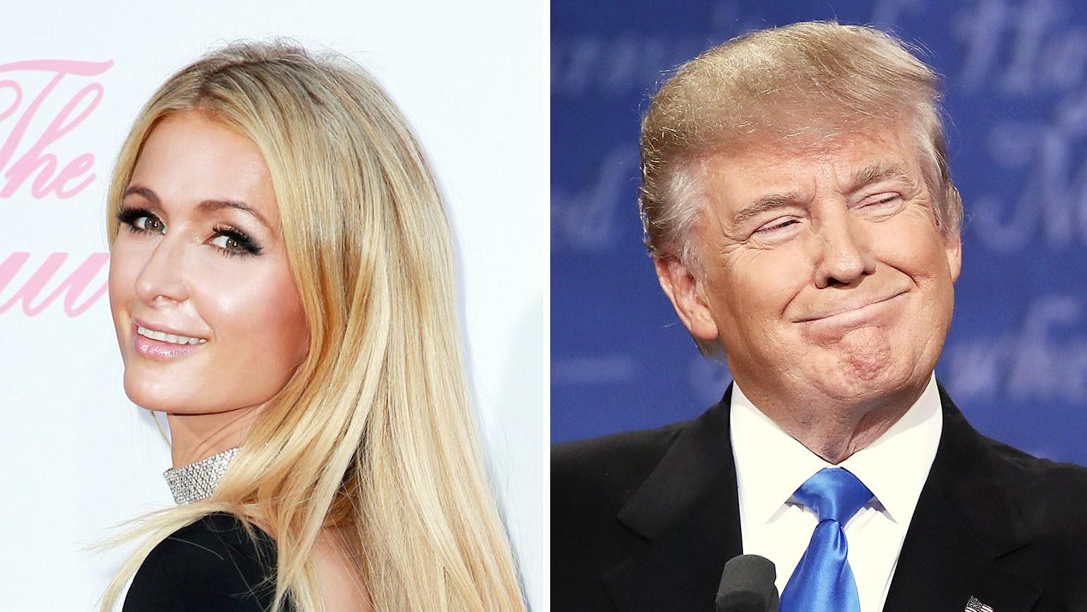 Paris Hilton Donald Trump