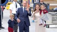 Prince George, Prince William, Duchess Catherine and Princess Charlotte