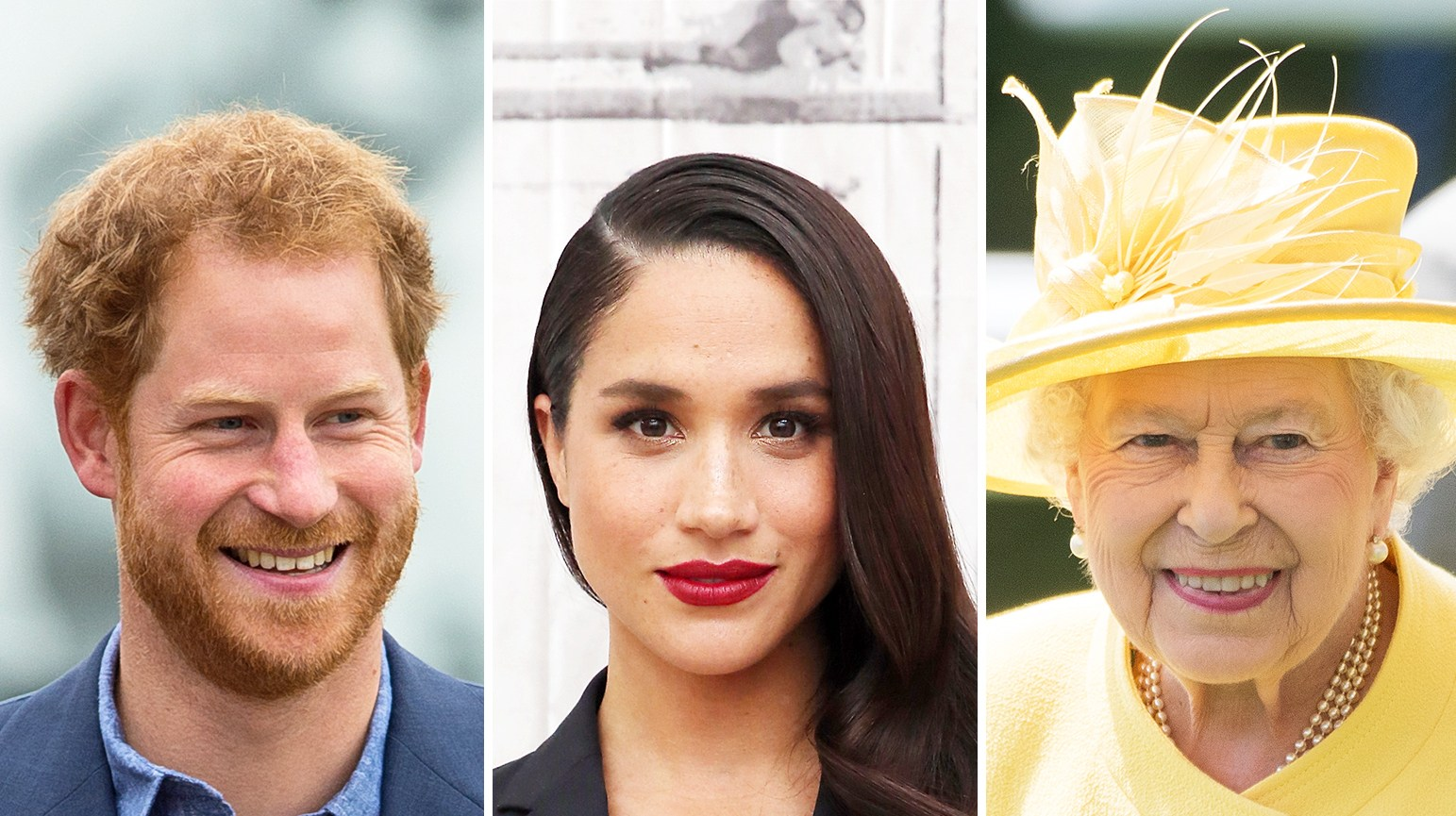 Prince Harry Meghan Markle Queen Elizabeth
