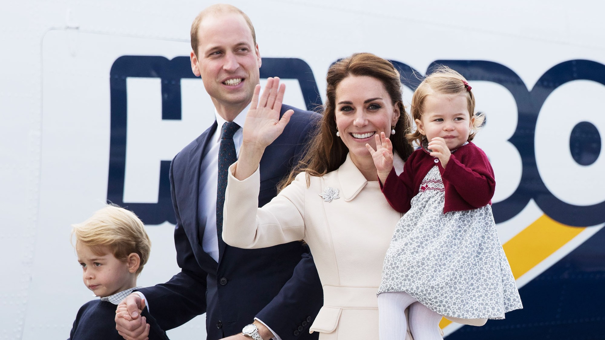 Duchess of Cambridge Prince William Prince George Princess Charlotte