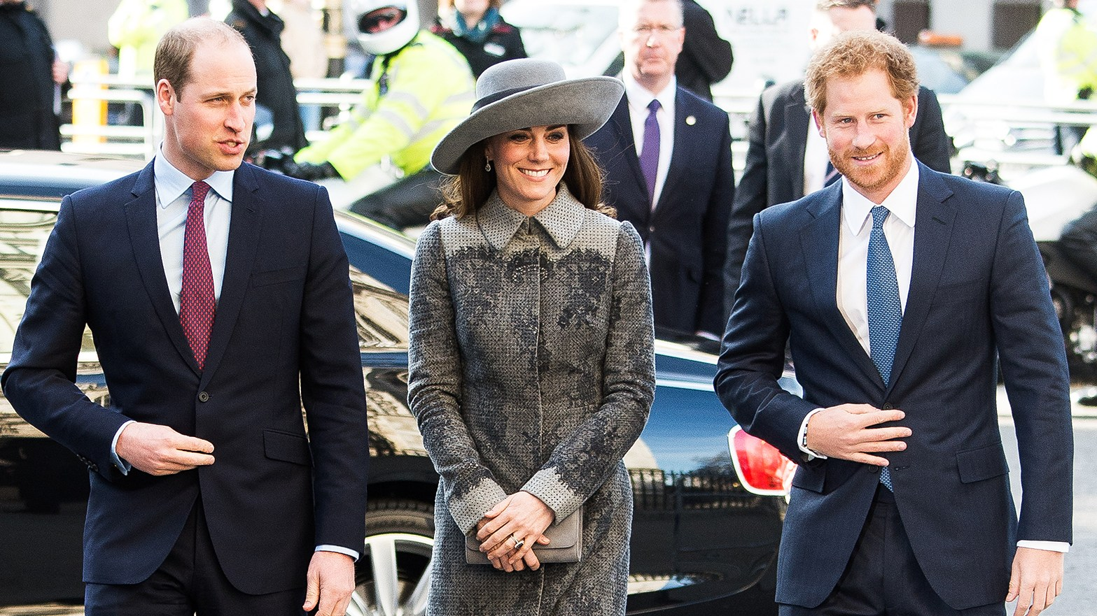 Prince William, Kate Middleton and Prince Harry