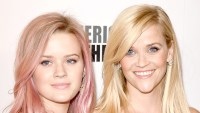 Ava Phillippe and Reese Witherspoon attend the 29th American Cinematheque Award honoring Reese Witherspoon at the Hyatt Regency Century Plaza on October 30, 2015 in Los Angeles, California.