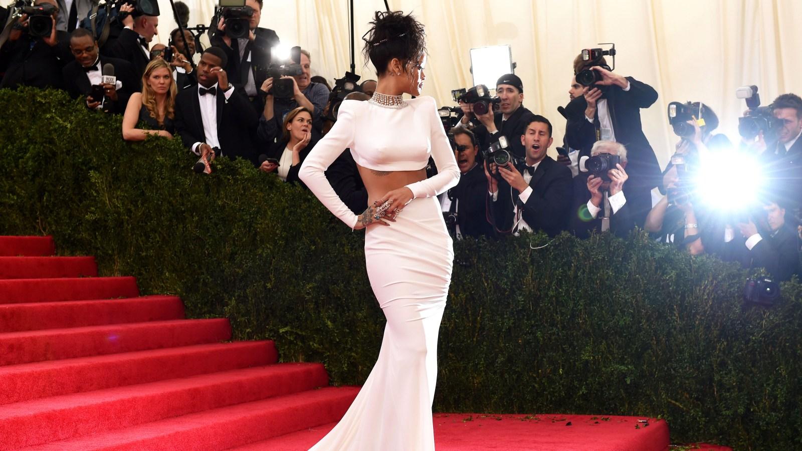 2ee51b9c1bc Rihanna s Red Carpet Style Evolution  Pics