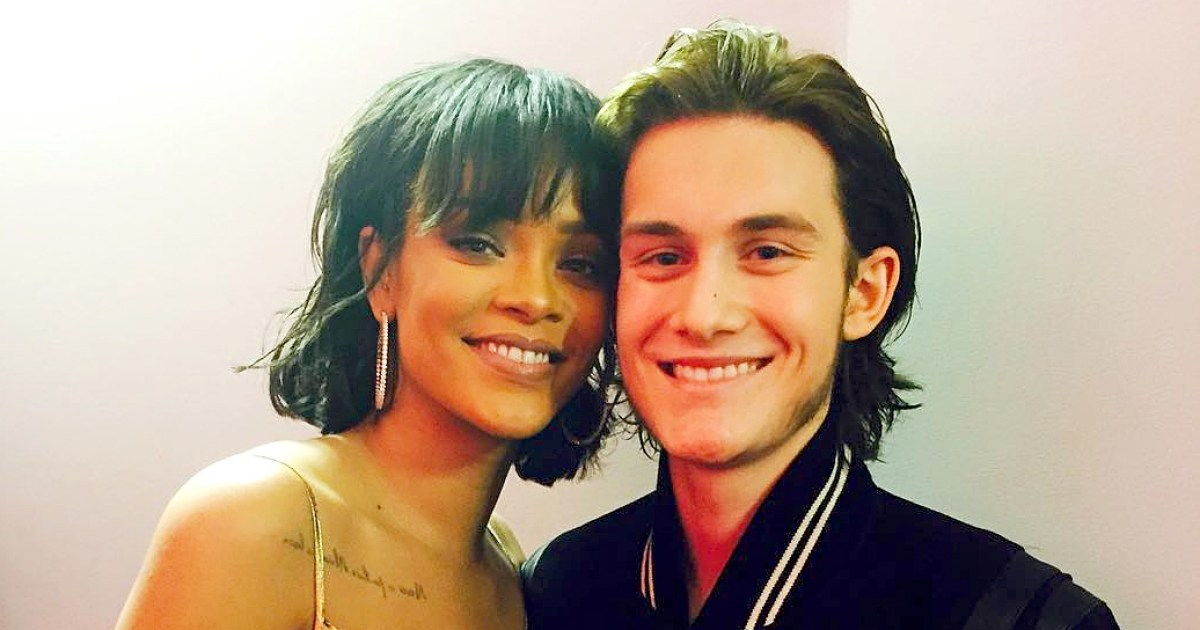 Rihanna Rene Charles Zoom Crop Resize Ssl Celine Dion Oscars Photos Of