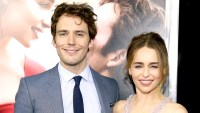 "Sam Claflin and Emilia Clarke attend The World Premiere of ""Me Before You"" at AMC Loews Lincoln Square 13 theater on May 23, 2016 in New York City."