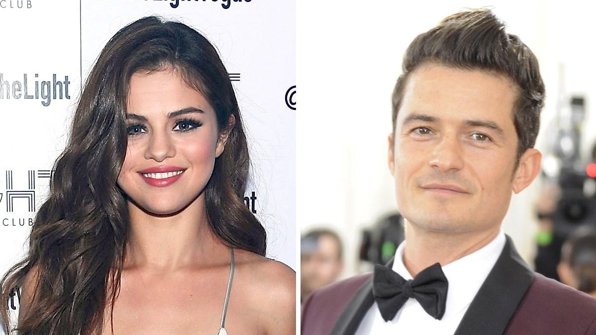 Selena Gomez & Orlando Bloom